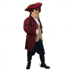 Patriot  Mascot Costume 607