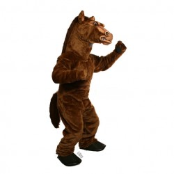 Power Fierce Stallion Mascot Costume 639