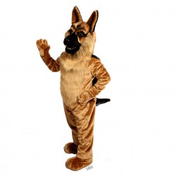 German Shepard Mascot Costume 643
