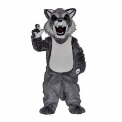 Fierce Husky Mascot Costume 652