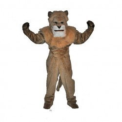 King Lion Mascot Costume 654