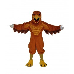 Mighty Golden Eagle Mascot Costume 671