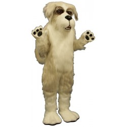Fluffy Dog Mascot Costume 886-Z