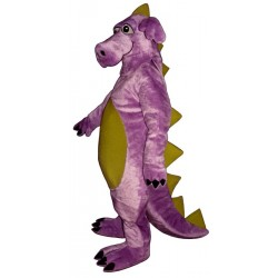 Purple Whimsical Dragon Mascot Costume 905P-Z
