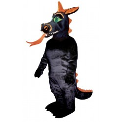 Fire Dragon Mascot Costume 917-Z