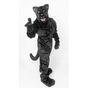 Power Real Cat Panther Mascot Costume 700