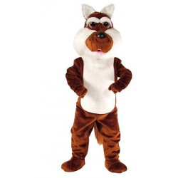 Coyote Without Clothing Mascot Costume 86