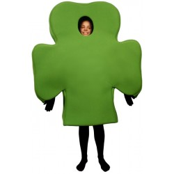 Shamrock (Bodysuit not included) Mascot Costume FC143-Z