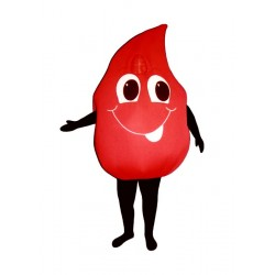 Blood-Drop (Bodysuit not included) Mascot Costume FC45-Z