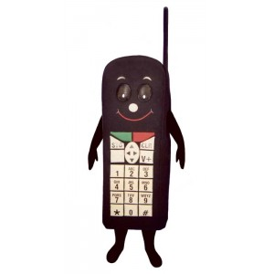 Black Cell Phone (Bodysuit not included) Mascot Costume FC59-Z