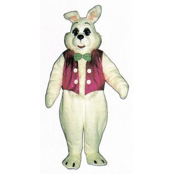 Easter Bunny w/ Vest Mascot Costume 1101A-Z