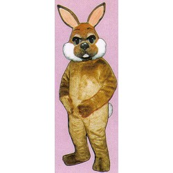 Brown Bunny Mascot Costume 1101B-Z
