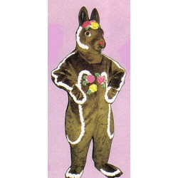 Chocolate Rabbit Mascot Costume 1107-Z