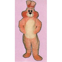 Pink Marshmallow Bunny Mascot Costume 1110P-Z