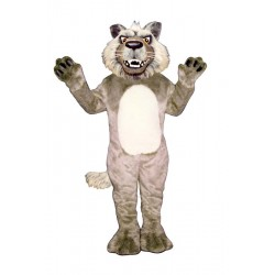 Growling Wolf Mascot Costume 1339-Z