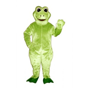 Fred Frog  Mascot Costume 1407-Z