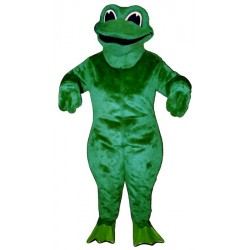 Croaking Frog Mascot Costume 1412-Z