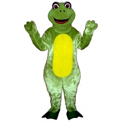 Happy Frog  Mascot Costume 1415-Z