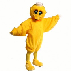 Lucky Duck Mascot Costume 157