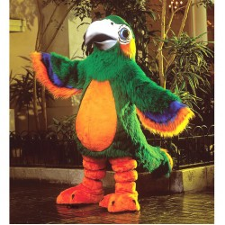 Patty Parrot Mascot Costume 189