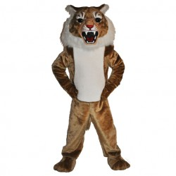 Super Wildcat Mascot Costume196-QSW