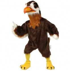 Regal Hawk Mascot Costume 197-QSW