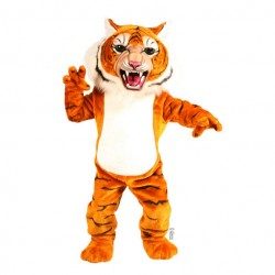 Super Tiger Mascot Costume 198
