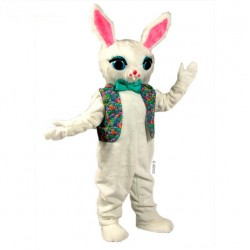 Cotton Bunny Mascot Costume 2