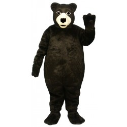 Fat Brown Bear Mascot Costume 203F-Z
