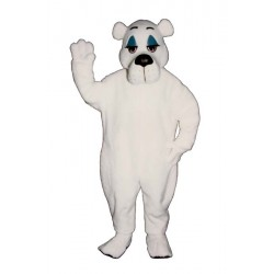 Comic Polar Bear Mascot Costume 210-Z