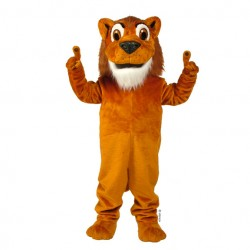 Larry Lion Mascot Costume 221-QSW