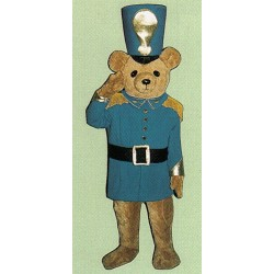 Soldier Bear Mascot Costume 224DD-Z