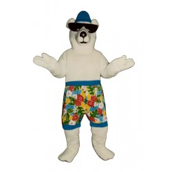 Beach Bear Mascot Costume 231KK-Z