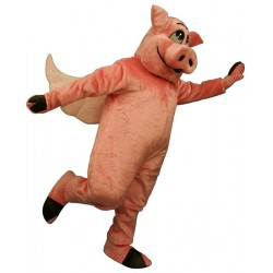 Flying Hog Mascot Costume 2407W-Z