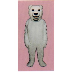 Snarling Polar Bear Mascot Costume 250P-Z