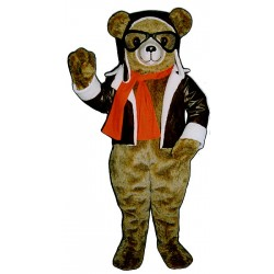 Red Bearon Mascot Costume 256A-Z