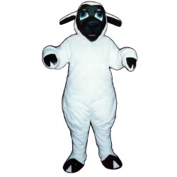 Black Faced Sheep Mascot Costume 2610-Z