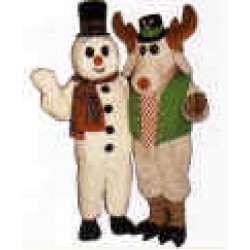 Peppermint Mousse w/ Lite-up Nose & Hat  Mascot Costume 3106A-Z