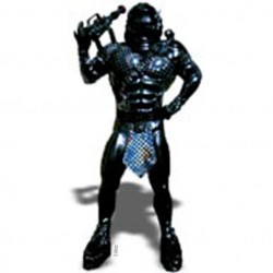 Galactic Warrior Mascot Costume 278