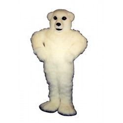Happy Polar Bear Mascot Costume 288-Z