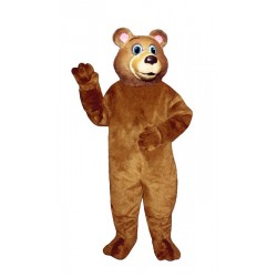 Blue Eyed Bear Mascot Costume 292-Z