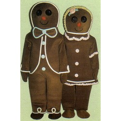 Gingerbread Boy Mascot Costume 2941-Z
