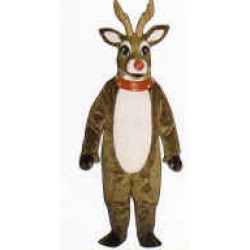 Mistletoe Deer w/Lite Up Nose Mascot Costume 3107A-Z
