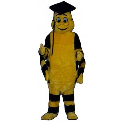 Educated Worm Mascot Costume 315A-Z