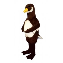 White Belly Goose Mascot Costume 3221-Z