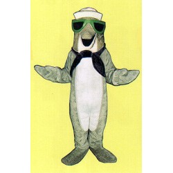 Fresh Fish Dolphin Mascot Costume 3304KK-Z