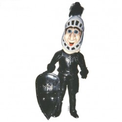 Comic Knight  Mascot Costume 400