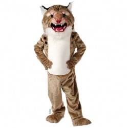 Super Wildcat Mascot Costume 404