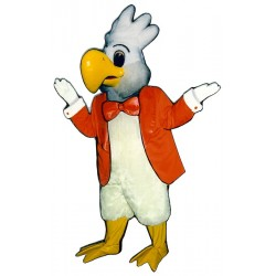 Cockatoo w/Jacket & Bowtie Mascot Costume 414A-Z