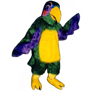 Colorful Parrot Mascot Costume 419-Z